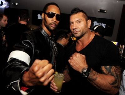"""DAVE BAUTISTA ATTENDS THE PREMIERE OF """"THE THING"""""""