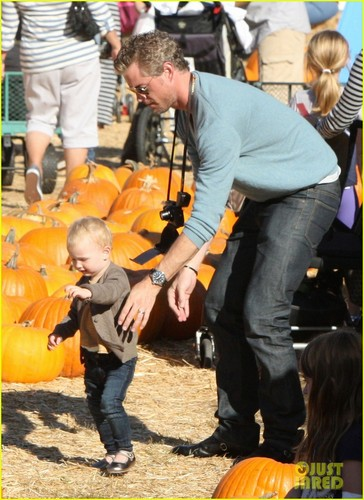 Eric Dane: zucca Patch with Billie!