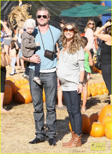 Eric Dane: Pumpkin Patch with Billie!