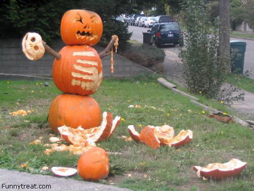 ☆ When Pumpkins attack