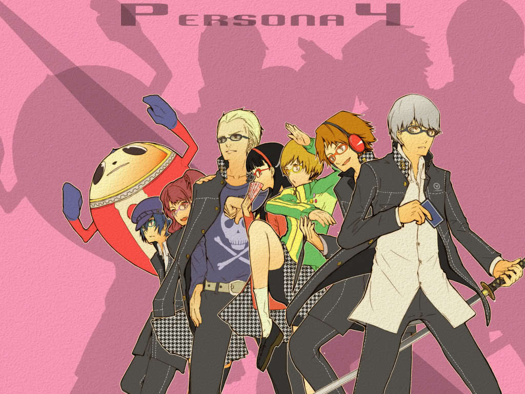 Persona 4 The Animation Wallpaper Persona-4-the-anime-the