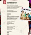 "1D = Heartthrobs (Enternal Love 4 1D & Always Will) ""Gotta Be You"" Lyrics! 100% Real ♥ - allsoppa fan art"