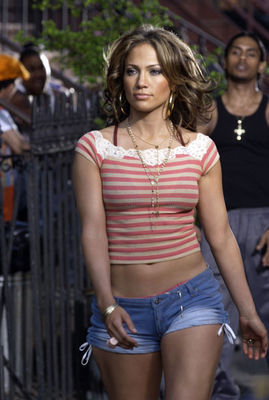 Jennifer Lopez wallpaper probably with hot pants, a street, and a hip boot titled 2002 I'm Gonna Be Alright - set