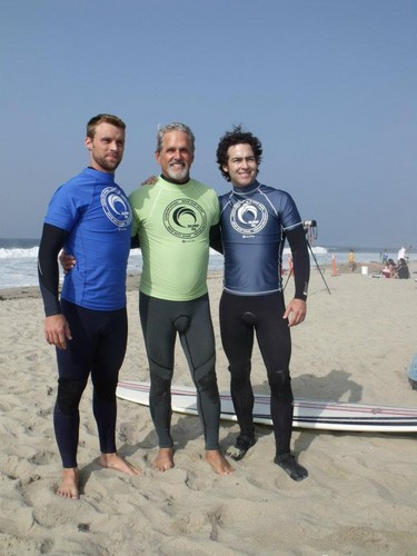Jesse Spencer fond d'écran probably with a diving suit called 4th annual project save our surf's 'surf 2011 celebrity surfathon' – jour 1