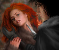 Jon  Snow & Ygritte - a-song-of-ice-and-fire photo