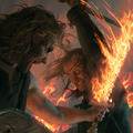 Sandor Clegane &amp;  Beric Dondarrion - a-song-of-ice-and-fire photo