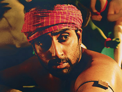 ABHISHEK BACHCHAN SHIRTLESS