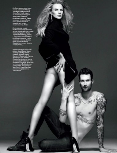 Adam and Anne Vogue photoshoot
