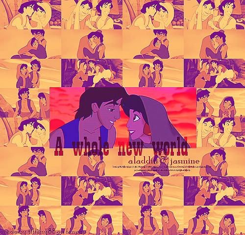 Aladdin & hasmin ~ ♥
