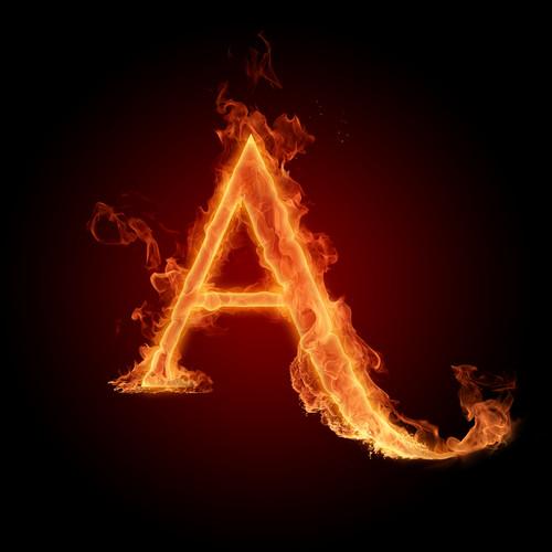 Alphabet letters 壁纸