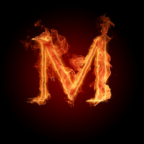 Random wallpaper containing a fire and a fire entitled Alphabet letters wallpaper