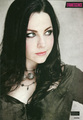 Amy Lee in the October 15 2011 Issue of Kerrang! Magazine - evanescence photo