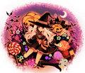 Anime Halloween - anime fan art