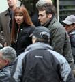 Anna Torv on the Set of 'Fringe' in Vancouver