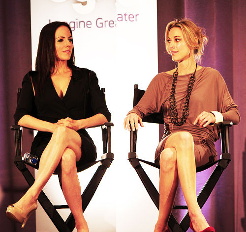 Anna & Zoie at SyFy event