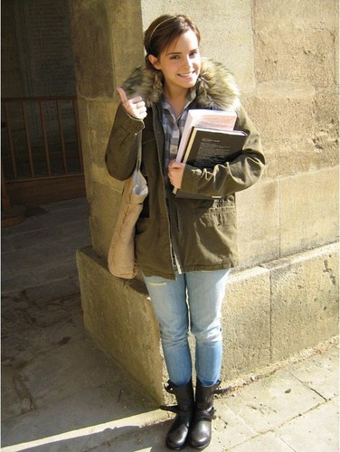 At Oxford University - October 2011
