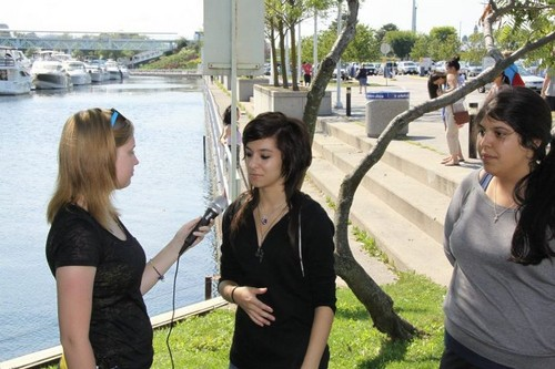 BackStage Interviews - christina-grimmie Photo