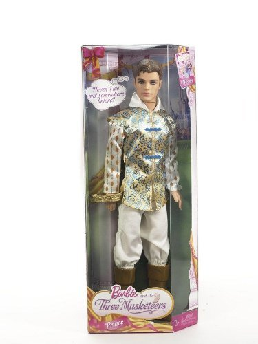 Barbie and The Three Musketeers Prince Doll