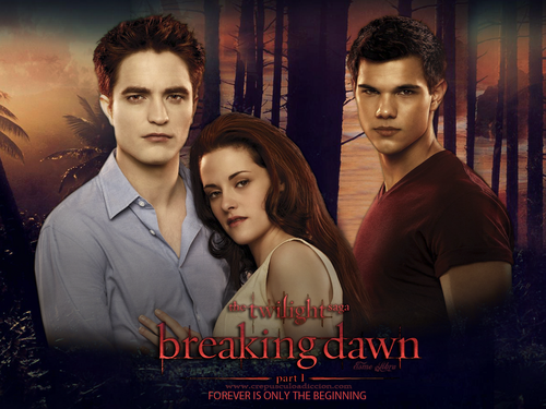 Breaking Dawn The Movie wallpaper containing a portrait titled Breaking Dawn wallpapers