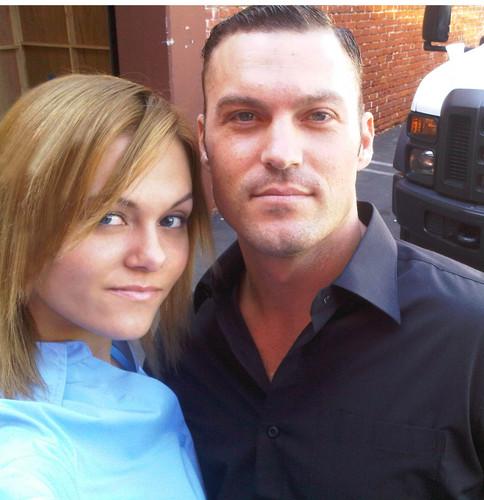 Brian Austin Green & Angelina Armani