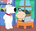 Brian and Stewie - stewie-and-brian-griffin photo