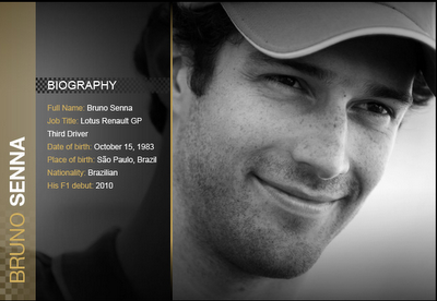 Bruno Senna's Biography