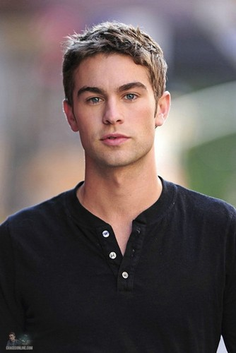 Chace - Gossip Girl - Behind the Scenes - August 30, 2011