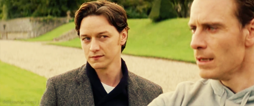 James McAvoy and Michael Fassbender wallpaper probably with a business suit called Cherik
