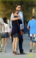 Chris Hemsworth & Elsa Pataky: Lunch in Barcelona!