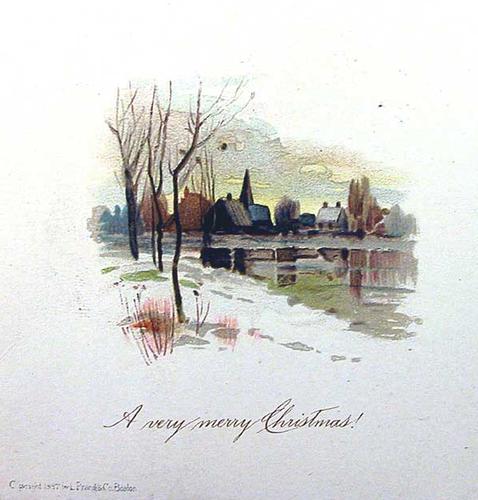 বড়দিন card