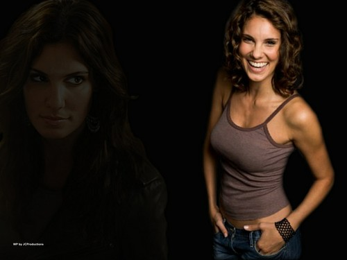 NCIS: Los Angeles hình nền probably containing attractiveness and a portrait called Daniela Ruah