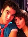 Darren Criss & Lea Michele - glee photo