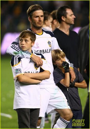 David Beckham: Galaxy Celebration with the Boys!