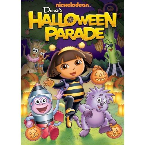 Dora the Explorer kertas dinding with Anime titled Dora's Halloween Parade
