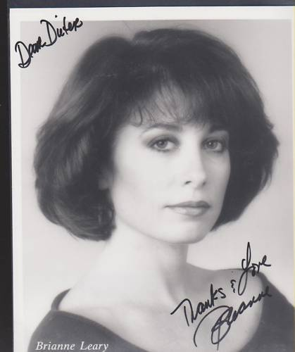 Ebay item Signed Brianne Leary pic