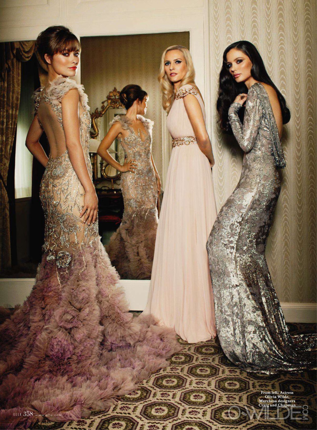 Elle Magazine [November 2011]