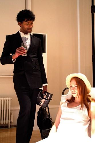 Emmanuel ray at London Fashion Week September 2011