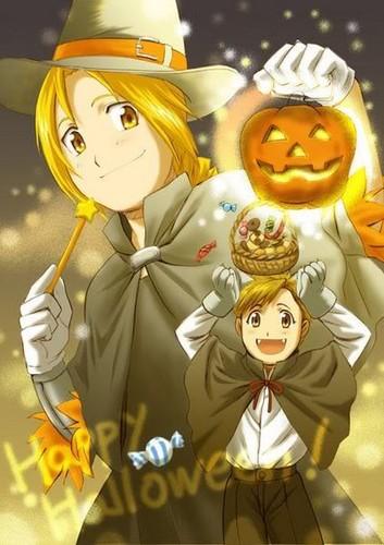 Full Metal Alchemist wallpaper entitled FMA Halloween