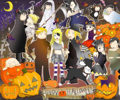 Full Metal Alchemist images FMA Halloween HD wallpaper and background photos