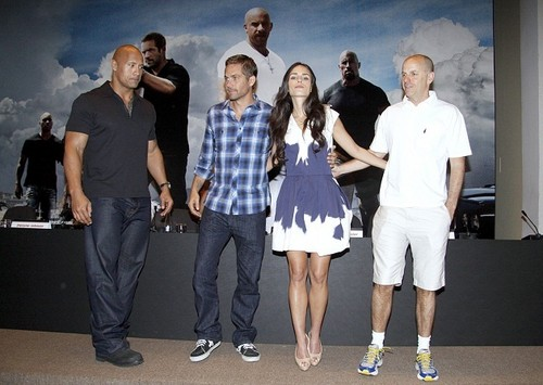 Fast Five Press Conference at the Copacabana Palace Hotel in RJ, Apr 13, 2011