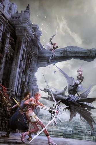 Final fantasia XIII-2 Artwork