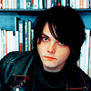 My Chemical Romance photo containing a bookshop called Gerard Way