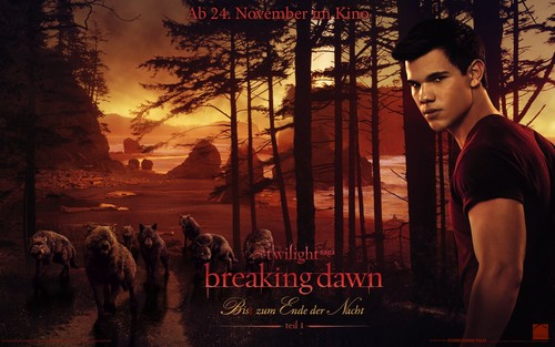 Breaking Dawn The Movie wallpaper probably containing a street, a sign, and a drawing room entitled German Breaking Dawn wallpapers