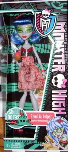 Ghoulia Skull Shores Dolls! - monster-high photo