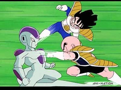 Gohan and Krillin, An Awesome Team