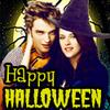 Robert Pattinson & Kristen Stewart चित्र with ऐनीमे entitled हैलोवीन theme avis