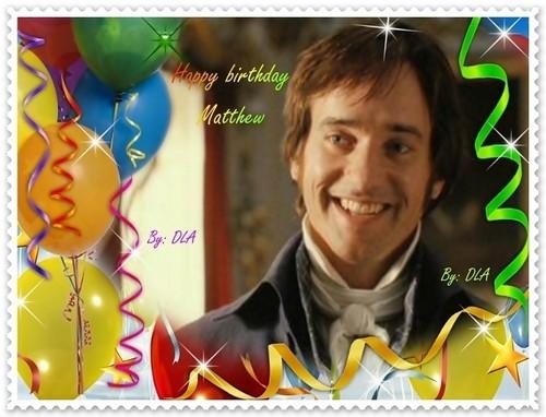 Happy birthday Matthew!