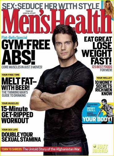 Henry Cavill Covers 'Men's Health' November 2011