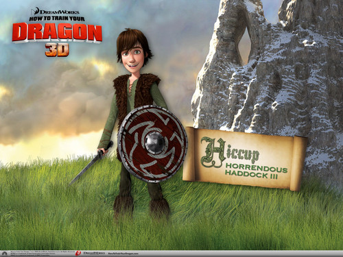 Hiccup 壁纸