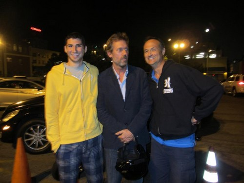 Hugh Laurie+Fã (califórnia)
